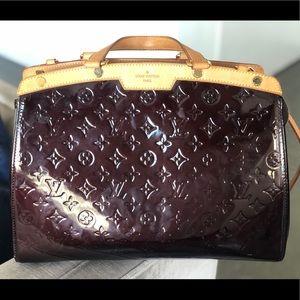 LOUIS VUITTON Monogram Calf Patent Leather